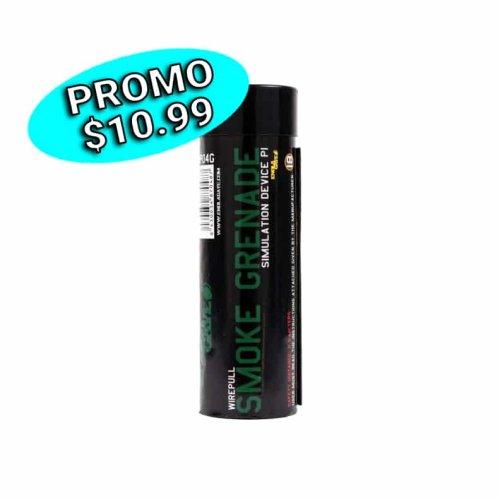 Grenade fumigène verte