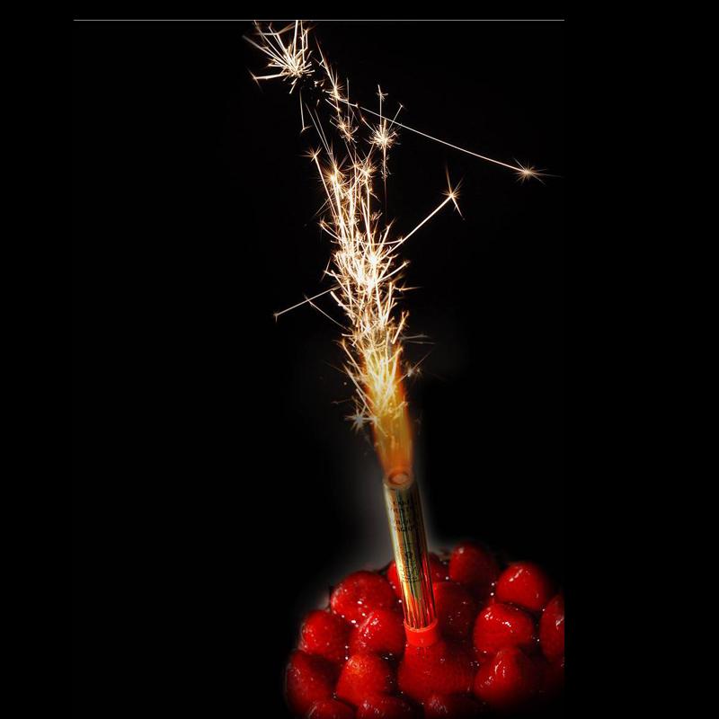 cake fountain - bouquet magique