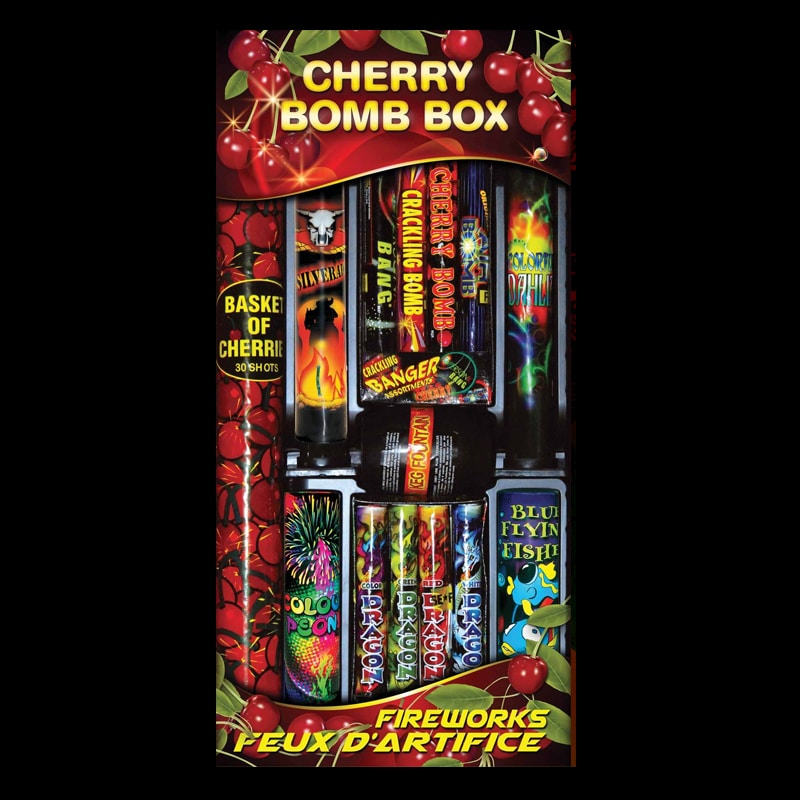 Assorted pyrotechnic kit Cherry Bomb box