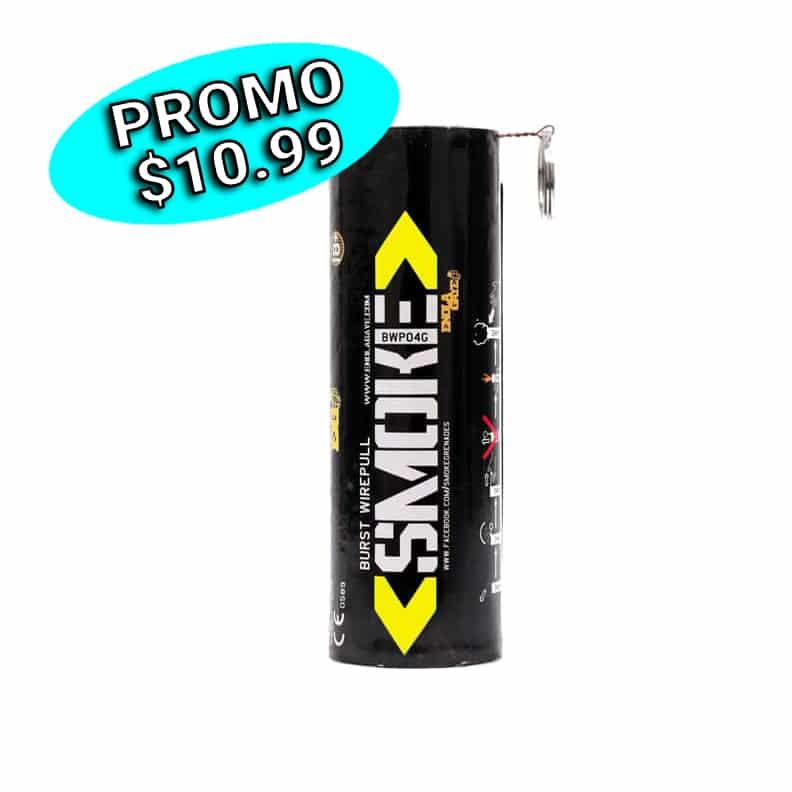 Grenade fumigène intense (jaune)
