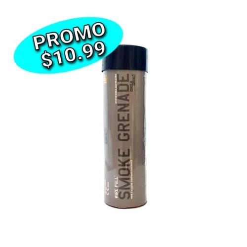 Black smoke grenade