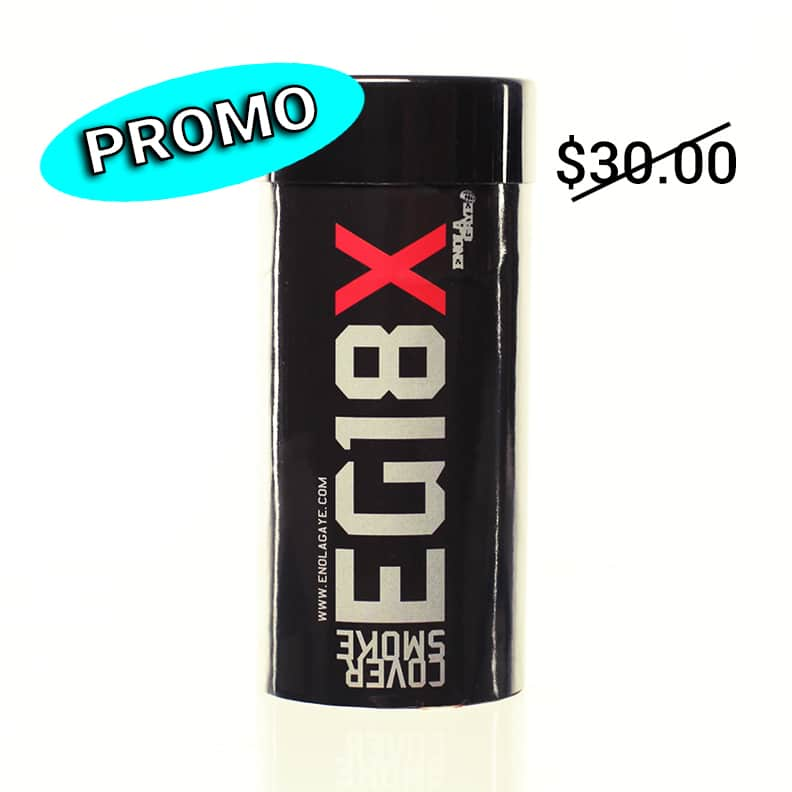SMOKE GRENADE EG18X (RED)