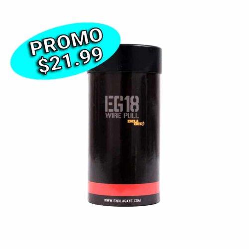 Grenade fumigène EG18 (rouge)