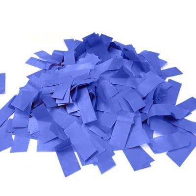 confetti bleue