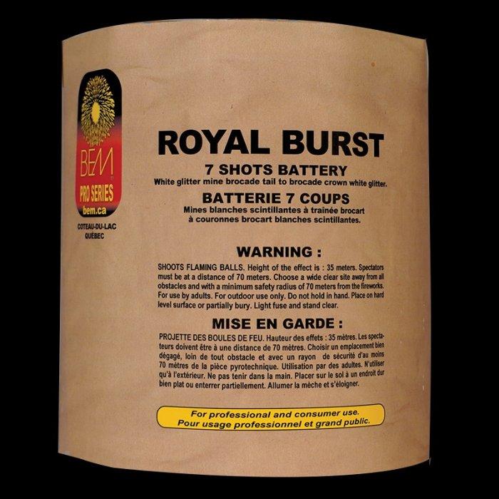 Royal Burst piece pyrotechnique
