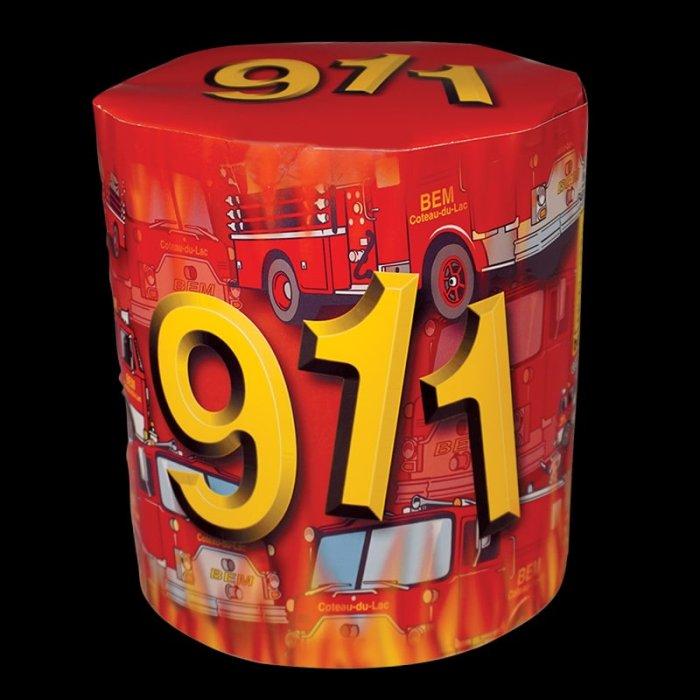 911 pièce pyrotechnique