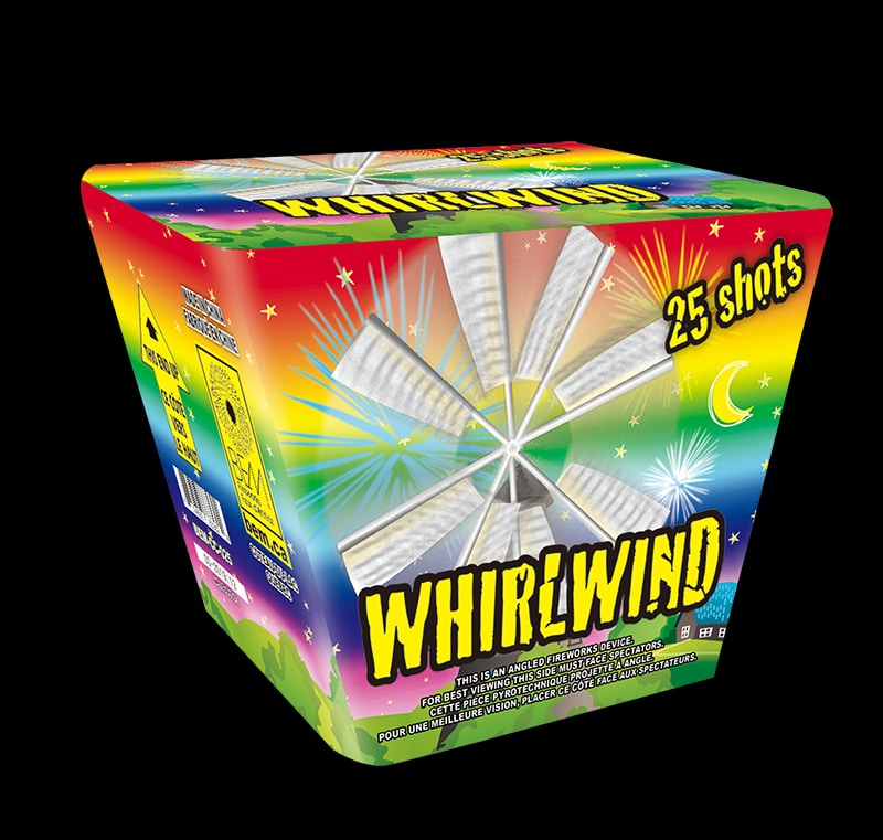 Whirlwind pièce pyrotechnique