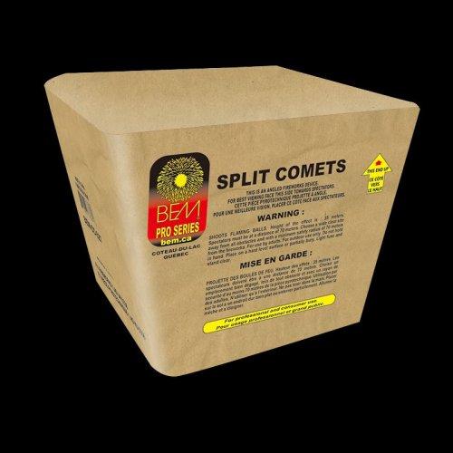 Split Comets firework