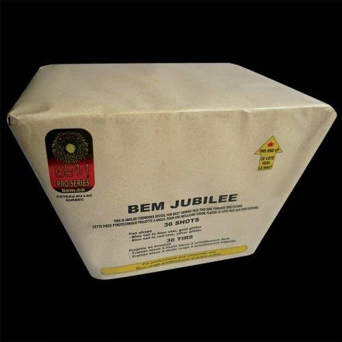 BEM Jubilee pièce pyrotechnique