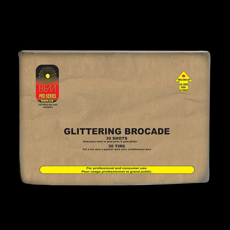 Glittering Brocade firework