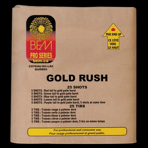 Gold Rush firework