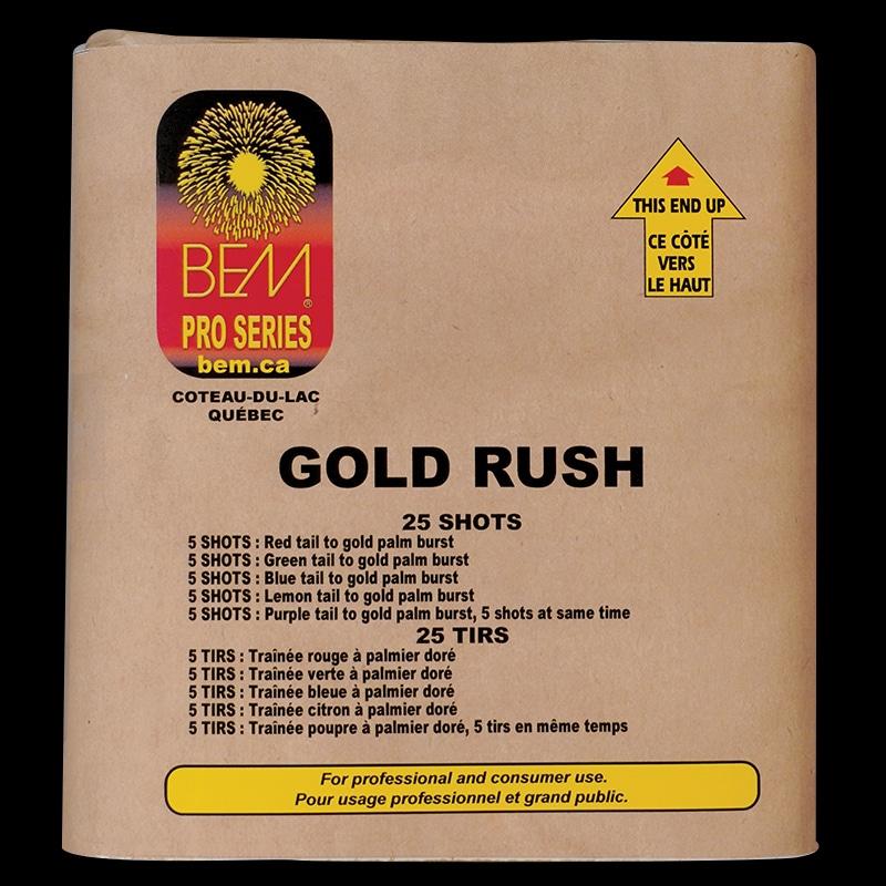 Gold Rush firework