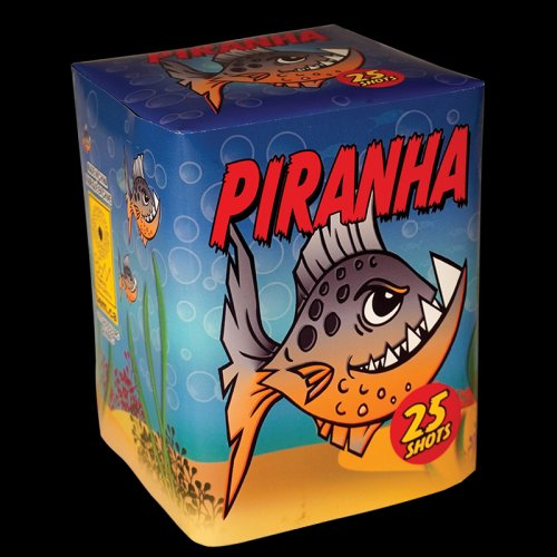 Piranha firework