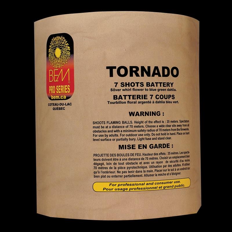 Tornado firework