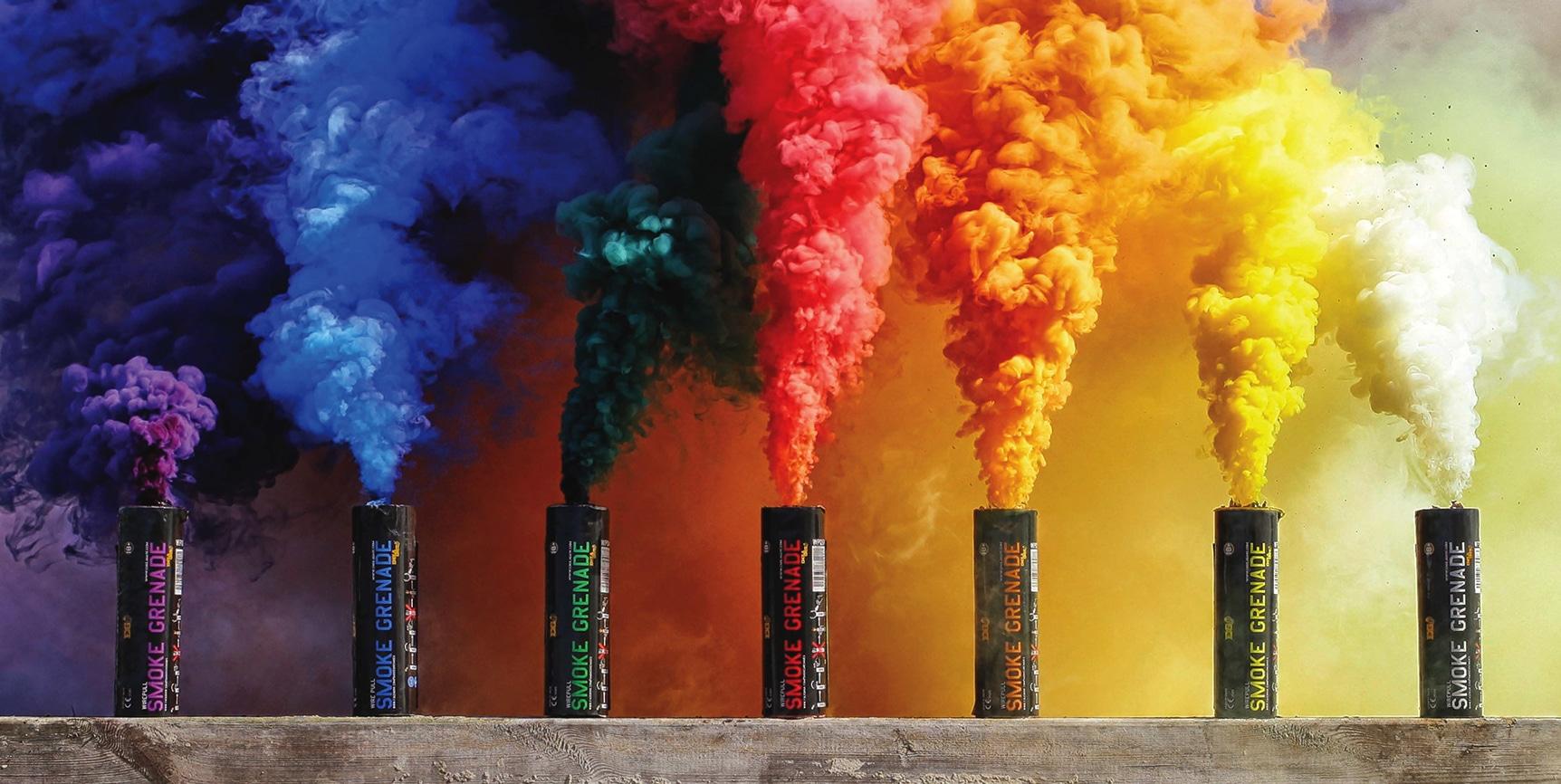 Rainbow grenade