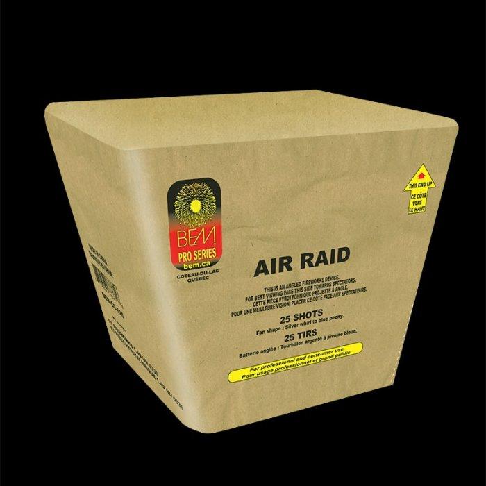 Pièce pyrotechnique Air Raid