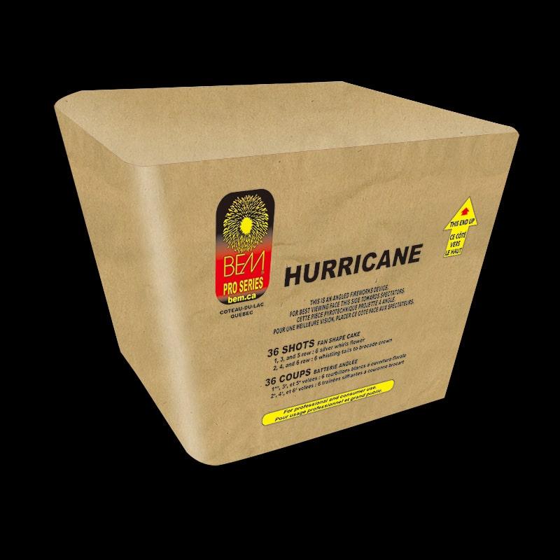 Hurricane piece pyrotechnique