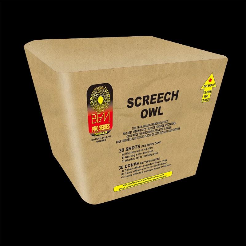 Piece pyrotechnique Screech Owl